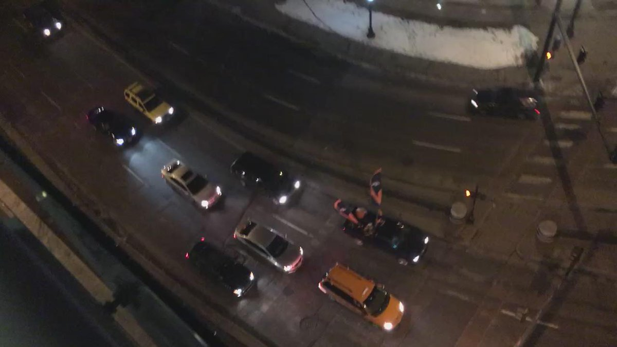 Cars honking their horns in downtown Denver. #SB50 https://t.co/Bm1JhX0R5P
