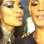 Morrendo com Claudinha e Anitta na concentração do desfile da Mocidade. #Globeleza https://t.co/OMHITZbjhL