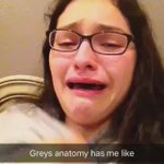 SEASON 8 OF GREYS ANATOMY HAS ME BALLING LIKE A LITTLE BABY https://t.co/5gXpH70cqq