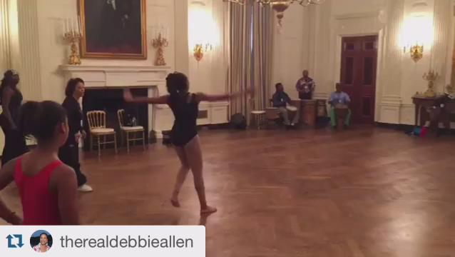 Let's talk about Mama Debbie Allen leading African dance lessons in the White House today. #BHMLIT https://t.co/TujJWzsysZ