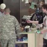 Soldier Defends Muslim Worker❤️ https://t.co/BdbZICqz4H