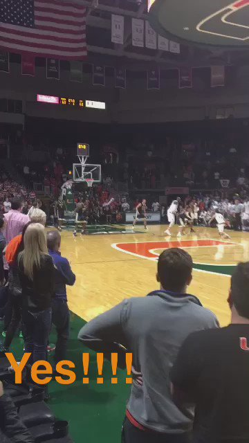 This was the last second tip in! #LetsGoCanes https://t.co/h8bVUviVBj