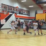 Exclamation mark with Stephanie Moore 3 as GV closes out 3q with 9-0 run to open up 45-30 lead on Merced https://t.co/khQmwLtSZd