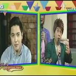 You have Maine already, you love Maine? Nagulat k b s tanong Tisoy? #ALDUBHopiaLikeit https://t.co/ElWHWK6uOF