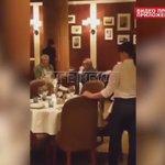 Нападение на Касьянова в ресторане. Ну бандиты обычные, титушки, гопота. Просто с удостоверениями чеченской полиции https://t.co/Did8WwRNox