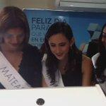 ¡Nuestras candidatas juegan Mario Kart en el arcade de @BoldNicaragua durante su visita! https://t.co/74cqfgPQdX