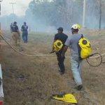 Labores de extinción por personal EXBURE y Voluntario de IMAVE en Santa Rita, Ocù. @BomberosHerrera https://t.co/lKA78vu76a