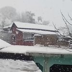 SnowFall in Abbottabad,it seems that its not gonna stop today,Record has been broken, 2feet snowfall so far... https://t.co/WbFZDjVGNu
