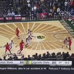 video is exactly .8 seconds from beginning (ball thrown in) to it leaving his fingertips. Go stopwatch! @ESPNBoise https://t.co/bxAPUPWQo4