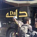 مشهد .. من مغادرة لاعبي #الاتحاد (( عبدالفتاح عسيري و رياض الابراهيم )) الى المجمعة https://t.co/x2ng4nctuT