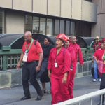 Some #EFF MPs singing as they arrive at #SONA2016 https://t.co/U6Un568CWY
