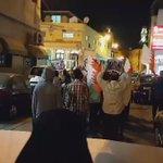 🎥 جانب من التظاهرة وسط العاصمة #المنامة تأهباً لفعالية #عصيان_النمر  #البحرين #Bahrain https://t.co/ztBbmfiMqP