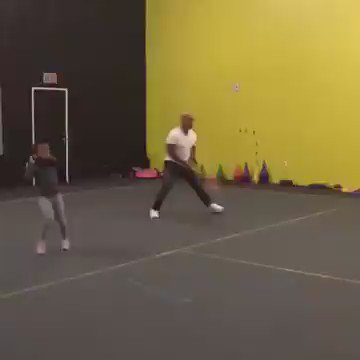 When @MikeTyson plays tennis he hits really hard! https://t.co/JDLHNqaoBC