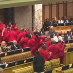 Eff MPs on their way out. #SONA2016 https://t.co/k36kGac153