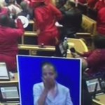 The lady doing sign language was enjoying her job... #SONA2016 https://t.co/B54nLEv0DS
