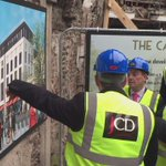Video: John Cleary and @pattheenglishm1 shows An Taoiseach around @TheCapitolCork https://t.co/xPML30HA7g