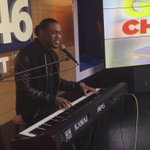 in CLT @RUDY_CURRENCE performing his soulful love songs on @FOX46News https://t.co/N0Vz2gMhng