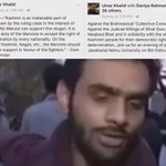 Hes Umar Khalid,organizer of JNU Afzal Guru event. AdarshLiberals sayin we cant call him anti-national #IndiaFirst https://t.co/eAsmSugAWY