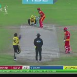 WHOS THE TUK TUK NOW?  Watch @captainmisbahpk launch two MASSIVE sixes off @SAfridiOfficial! #PZvIU https://t.co/mQ7Y5ozXqM
