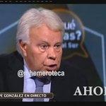 Felipe González y la reforma constitucional del 135  Ahora: innecesario.  Antes: urgente. https://t.co/PE2w8WZP5P