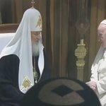 #EnVideo | Encuentro entre el papa Francisco y el patriarca ruso Kirill en #Cuba | https://t.co/Fppm41OQSu https://t.co/yWuuFc6Hsk