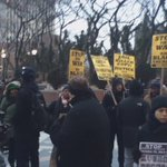 #NYC: People still arriving to the #AkaiGurley rally! #BlackLivesMatter https://t.co/XOq5PIX0jR