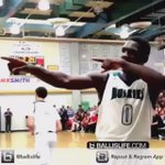 Repost @Ballislife Eli Scott @0toEli Shows you dont need a fancy dunk to get the crowd going, Another Day at CH❕ https://t.co/2c1rYtzQnZ