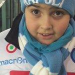 Lorenzo, piccolo tifoso azzurro allo Juventus Stadium! #ForzaNapoli #JuveNapoli #JuventusNapoli @napolimagazine https://t.co/eRAt5rIzix