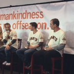 """On the Q&A stage, @bcraw35 """"whats your biggest accomplishment?"""" #SFGFest 