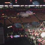 El ambiente en el ACC una hora antes de la primera competencia #NBAenTN8 #NBAAllStarTO @8Deportivo https://t.co/aVx7ymIx7J