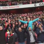 .@Arsenal fans, you were superb today! #AFCvLCFC https://t.co/uI79zf4M2E