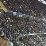 Spurs fans at The Etihad today. #coys https://t.co/xttJi2Akzi