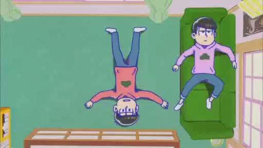 【おそ松さん】19話より。マジ頼りになる長男、おそ松兄さん(笑)#おそ松さん19話#おそ松さん #トッティ