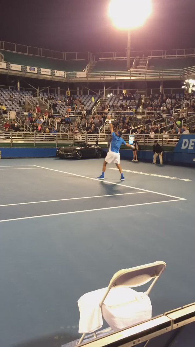 Vamos Delpo! @delpotrojuan wins 6-2, 6-3 and advances to the semifinals #DelrayBeachOpen #DBO https://t.co/yhGeYEArwT