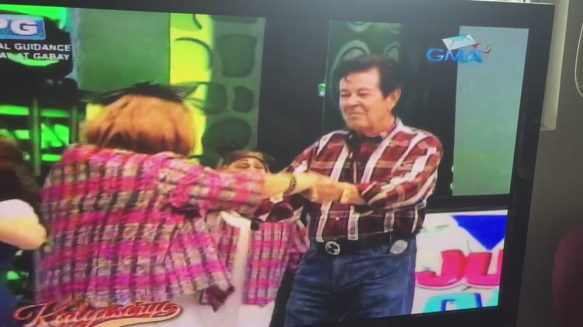 Thank you for having my handsome daddy Eddie in your Kalyeserye. I hope this won't be the last! #ALDUBAngPagbabalik https://t.co/XVrGxdPHl9