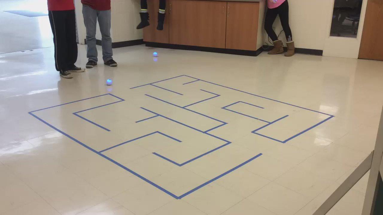 @SpheroEdu @Sphero @tickleapp 8g boys first success through new maze coding Sphero with Tickle! #d205learns #complit https://t.co/2q5TQnJuXm