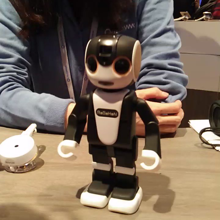RoBoHoN from @SHARP_JP is intelligent and fun too. https://t.co/G2W6X9gc4u