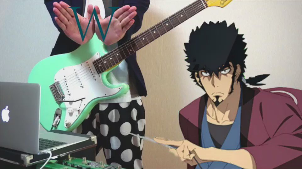 『Dimension W』 OP ギターで弾いてみた YouTube→ ニコニコ動画→