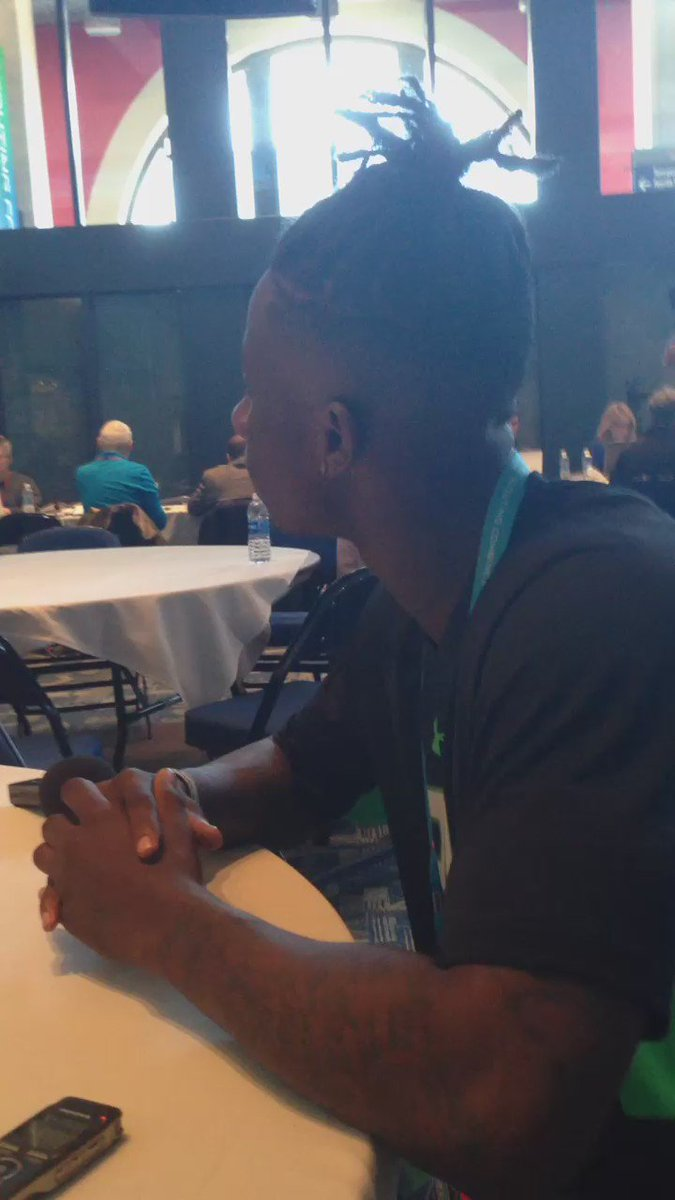 Texas A&M CB De'Vante Harris says it doesn't matter where he goes, just needs a football field. https://t.co/sSIYwD7B81