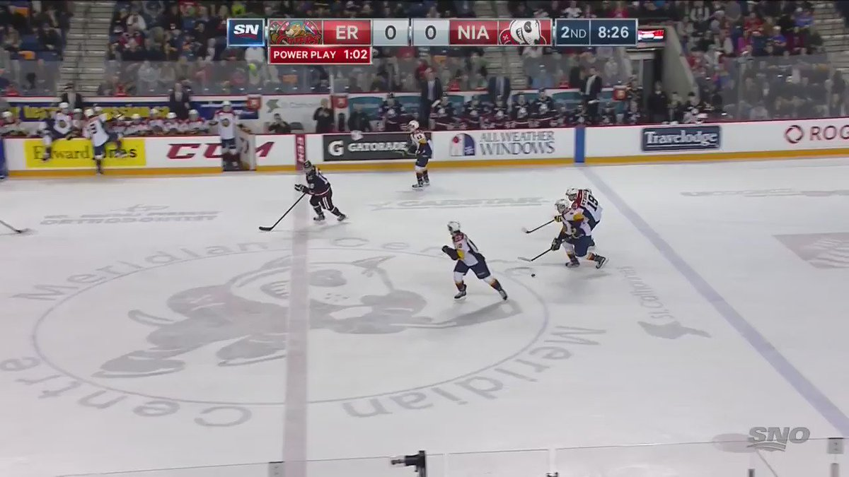 WATCH THIS: @ArizonaCoyotes prospect Dylan @stromer19 of the @ErieOtters is simply sensational in this 1-on-4 goal https://t.co/kdMVJnq8Xn