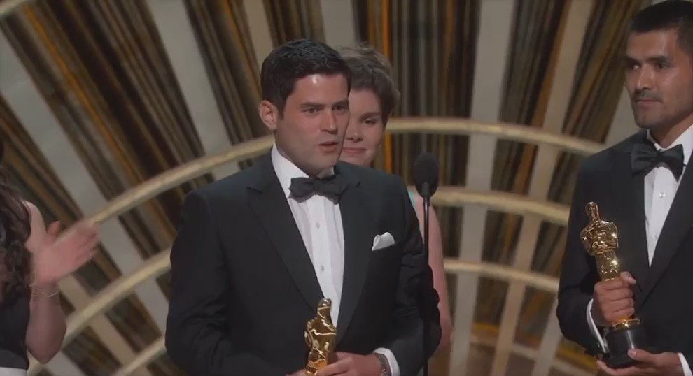 El speech de @PunkRobotStudio #HistoriaDeUnOso #Oscar https://t.co/GsCzcONC2q