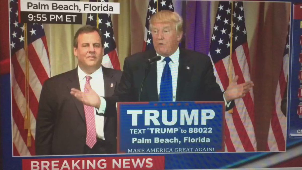 Chris Christie right now… #curbyourdrumpf https://t.co/E4Ls4PARe8