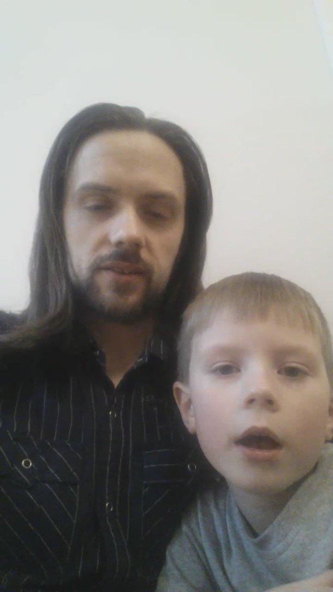 .@IMPACTWRESTLING @TNADixie my son Luke and I did our #ThankYouKurt video for @RealKurtAngle :) https://t.co/E9d40Hj8XY