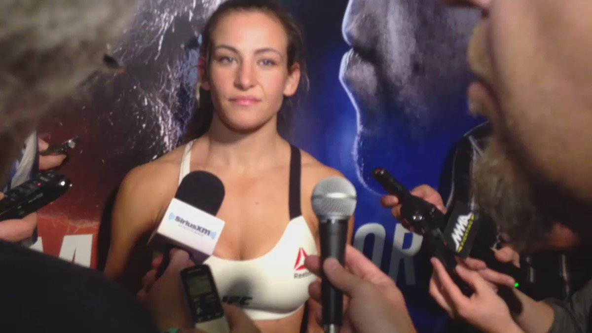 Video -- Here's @MieshaTate Part 1 answering my Qs this week - Ans1: on male southpaw sparring partner https://t.co/u5PL4PbDGv