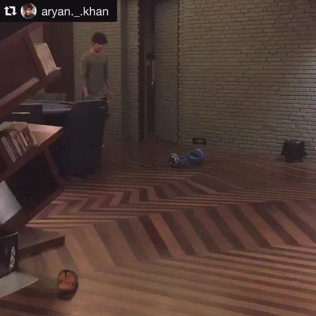 Wonder if @iamsrk can do the #IOWALK the same way as #AryanKhan ?! https://t.co/P2EI7OYmv0