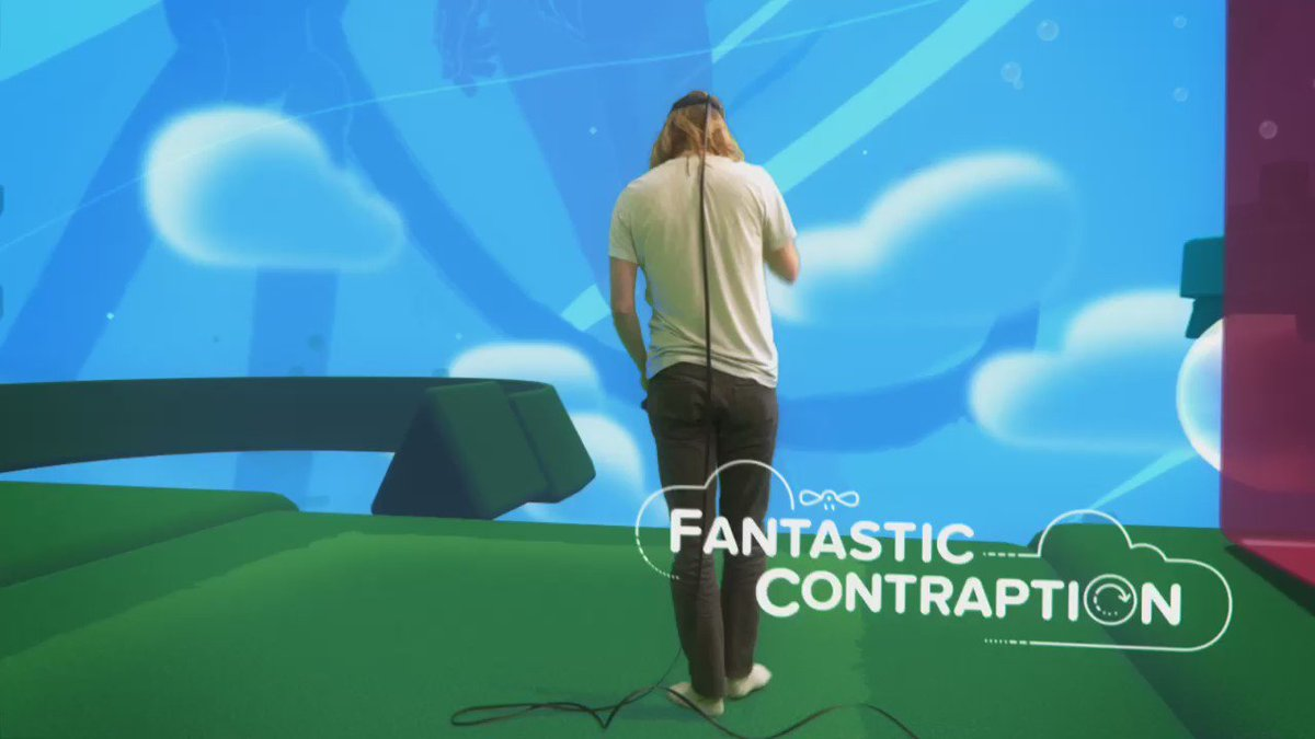 First look at some new mixed reality VR gameplay footage from Fantastic Contraption! :D https://t.co/olnjQzhfSy