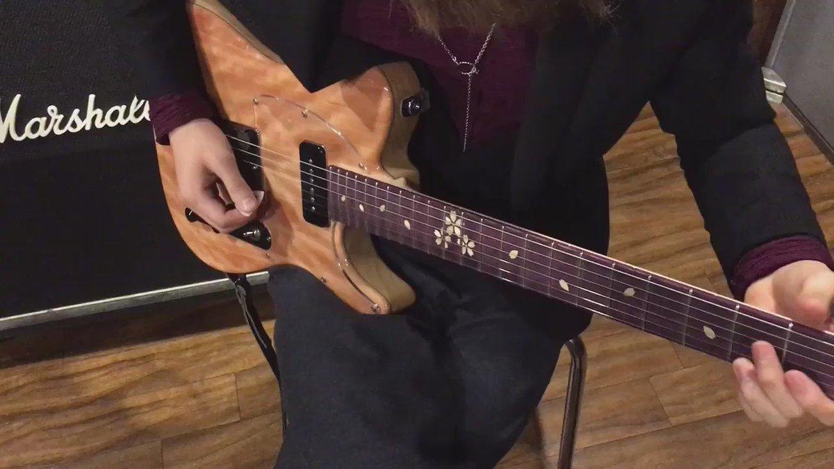 ひさしぶりにうらたさんとスタジオ行って楽器弾いて遊んできたあああー⁽⁽٩(๑˃̶͈̀ ᗨ ˂̶͈́)۶⁾⁾ 自分で作った