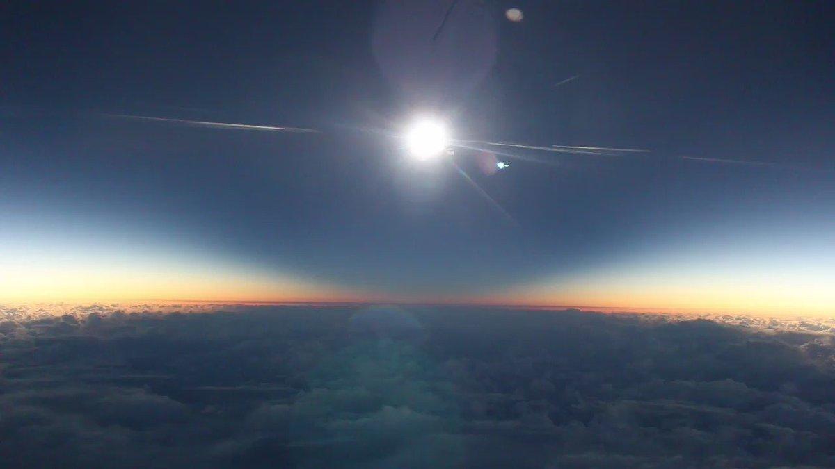 Experience #eclipse2016 from 35,000 feet. Blog: https://t.co/EcI37ckUFd Full video: https://t.co/2WWk3vUpDo https://t.co/gdkrJfemgR