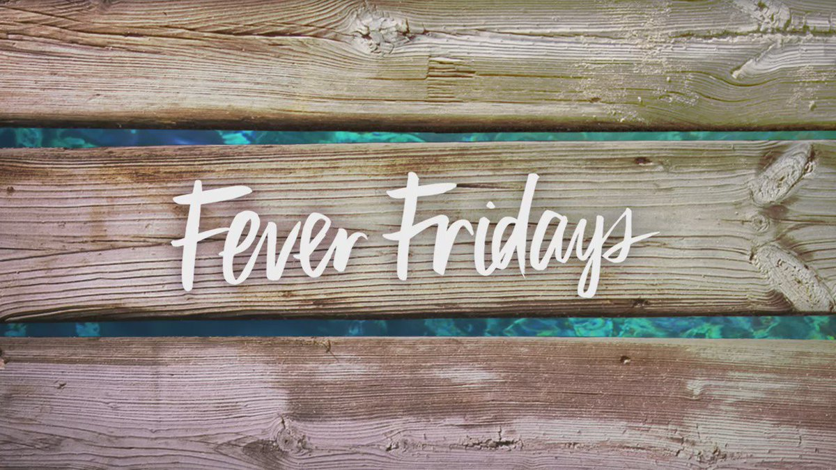 Beach, please. You know the last Fever Friday is gonna be EPIC. See u tomorrow… ⏰ #SpringFever https://t.co/5yBuwvMswj