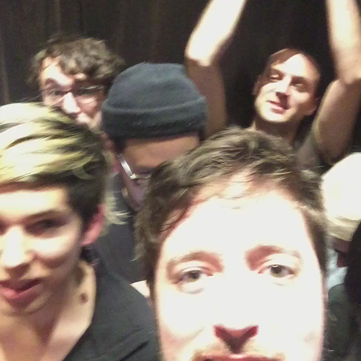 16 of us stuck in this elevator good times gooooood times @glowforge https://t.co/LKpczw4c44